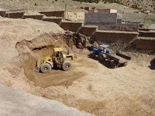 Aushubsarbeiten Neubau Collège